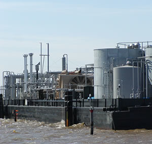 Inland Production Barge Facility
